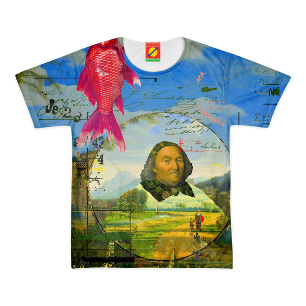 A LANDSCAPE COLLAGE Men's All Over Print Tee