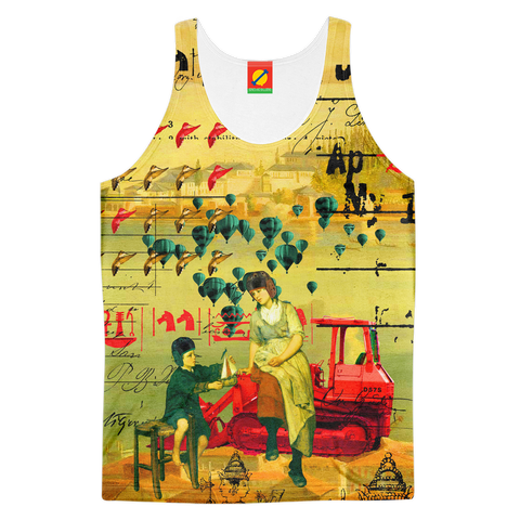 HERE  TAKE IT. II Men's All Over Print Tank Top