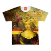 IT'S ALL ABOUT THE YELLOW FLOWER HEADDRESS Women's All Over Print Tee