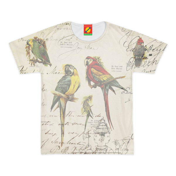 THE PARROT MAP II Men's All Over Print Tee