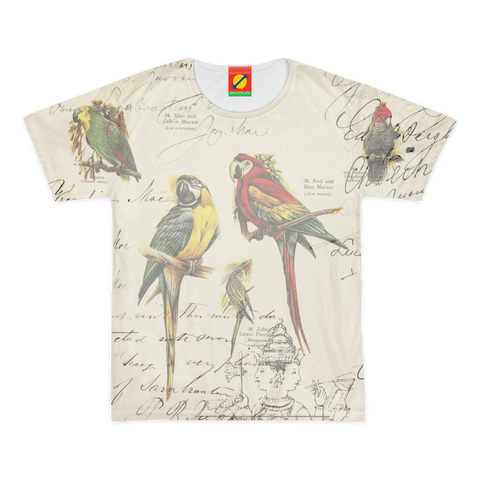 THE PARROT MAP II Women's All Over Print Tee