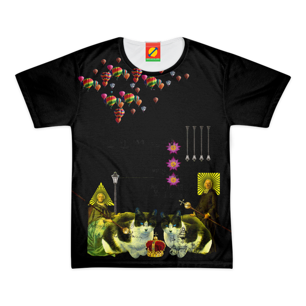 BY THE CASTLE III Women's All Over Print Tee