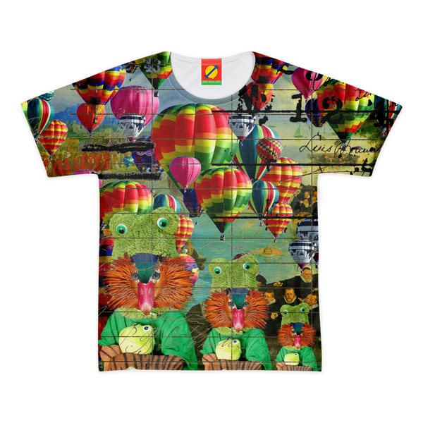 ANIMAL MIX - HOT AIR BALLOONS... AND LOST SOULS Men's All Over Print Tee