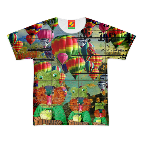 ANIMAL MIX - HOT AIR BALLOONS... AND LOST SOULS Women's All Over Print Tee