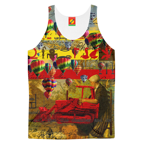MOTHER AND CHILD III Men's All Over Print Tank Top