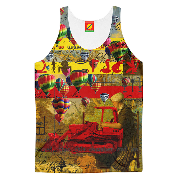 MOTHER AND CHILD III Women's All Over Print Tank Top