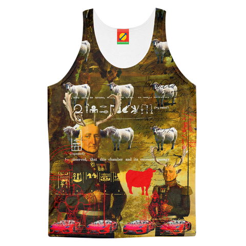 BOVINE Men's All Over Print Tank Top