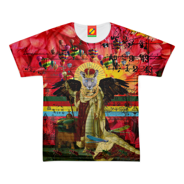 ANIMAL MIX - THE HOLY EMPEROR I Women's All Over Print Tee