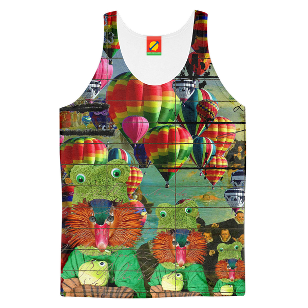 ANIMAL MIX - HOT AIR BALLOONS... AND LOST SOULS Men's All Over Print Tank Top