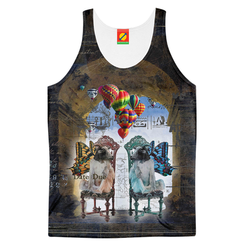 ANIMAL MIX - THE GATE II Women's All Over Print Tank Top