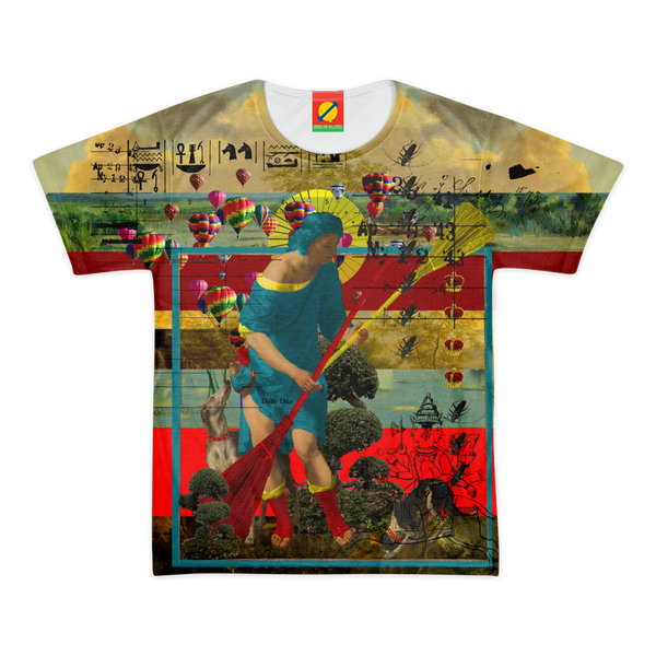 PASSING OUT THE BROOMS II Men's All Over Print Tee