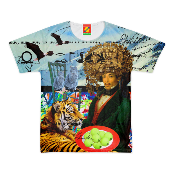 THE EMPEROR OF SNOWY MOUNTAIN III Men's All Over Print Tee