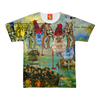 ANIMAL MIX CREATURES AND LOST SOULS AT SEA Women's All Over Print Tee