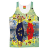 THE LAMPPOST INSTALLATION CREW VIII Women's All Over Print Tank Top