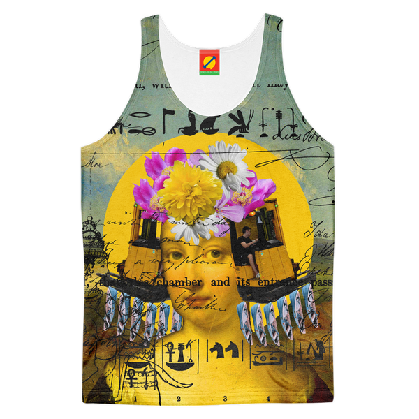 THE BORING HEADDRESS IV II II ALT. FACE Women's All Over Print Tank Top