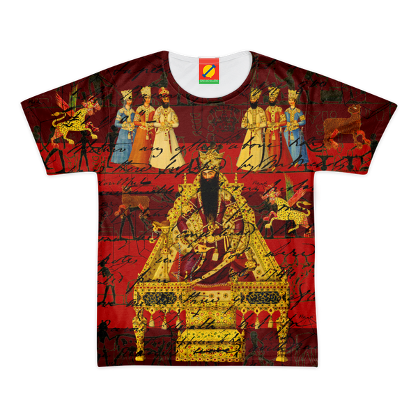 THE INDIAN KING Women's All Over Print Tee