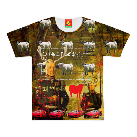 BOVINE Men's All Over Print Tee