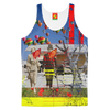 GOING FOR A WALK II Men's All Over Print Tank Top