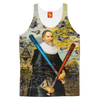 THE F22 RAPTOR HUNTER IN EARLY SPRING IV Women's All Over Print Tank Top