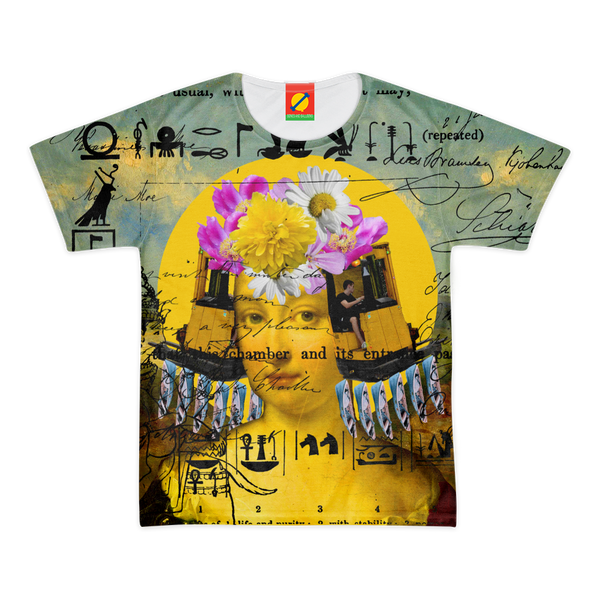 THE BORING HEADDRESS IV II II ALT. FACE Men's All Over Print Tee
