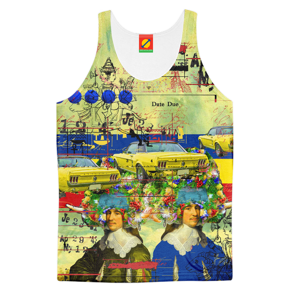 THE PARKING LOT Women's All Over Print Tank Top