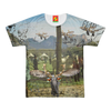 ANIMAL MIX - A SURPRISE AT THE RACES II Men's All Over Print Tee