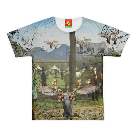 ANIMAL MIX - A SURPRISE AT THE RACES II Women's All Over Print Tee