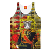 HOLY CATMEN WITH RED AND YELLOW Men's All Over Print Tank Top