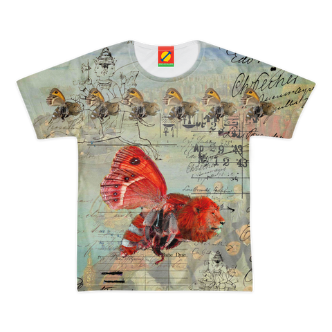 THE UNUSUALLY-COLORED ANIMAL MIX CREATURE! Women's All Over Print Tee