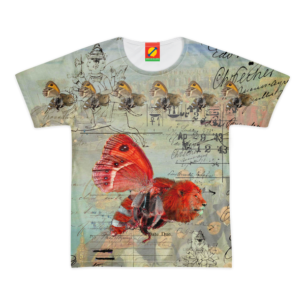 THE UNUSUALLY-COLORED ANIMAL MIX CREATURE! Men's All Over Print Tee