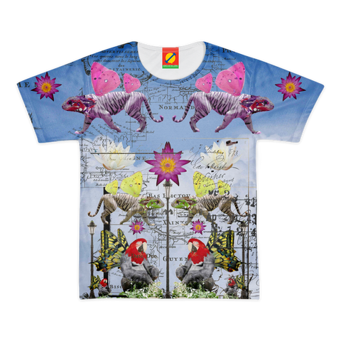 ANIMAL MIX - REFLECTIONS Women's All Over Print Tee