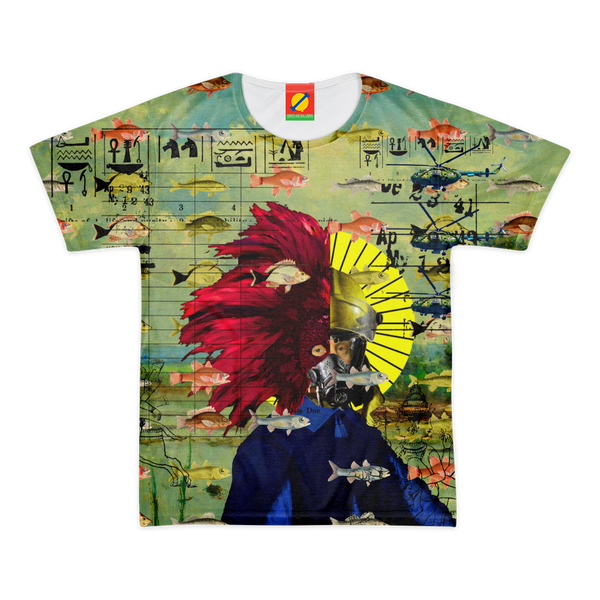 THE HALLOWED DIVER Men's All Over Print Tee