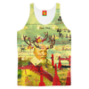 THE CATS' ROCKETS' GUARD Women's All Over Print Tank Top