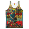 PASSING OUT THE BROOMS II Women's All Over Print Tank Top