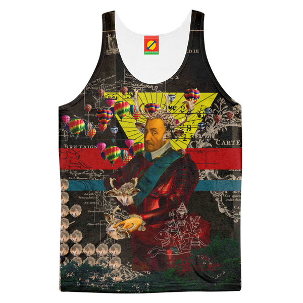 THE HEDGEHOG SOUP UPPER III IV Men's All Over Print Tank Top