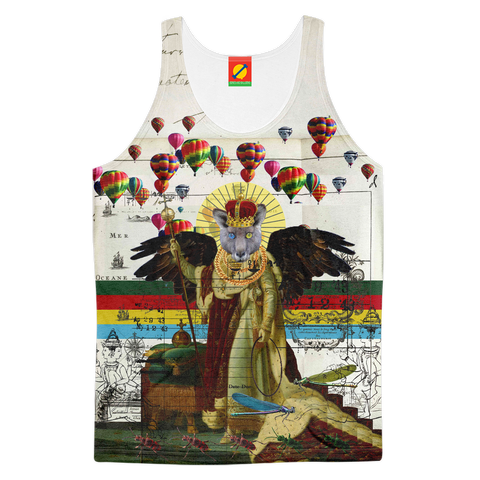ANIMAL MIX - THE HOLY EMPEROR IV Women's All Over Print Tank Top