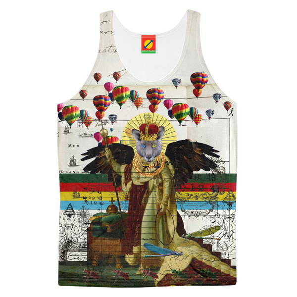 ANIMAL MIX - THE HOLY EMPEROR IV Men's All Over Print Tank Top