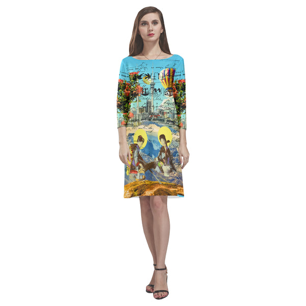THE CONCERT II 2 Loose Round Neck Dress