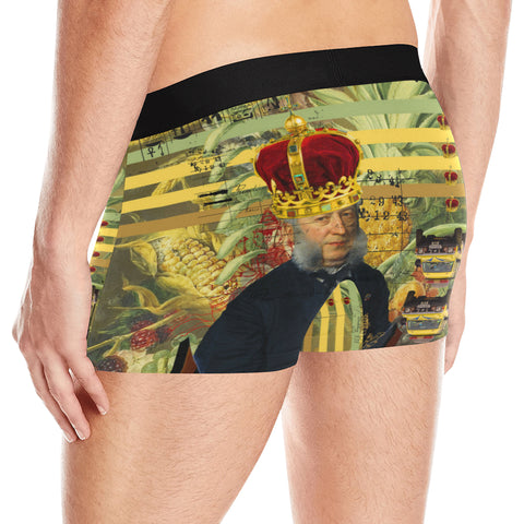THE FOUR CROWNS Men's All Over Print Boxer Briefs