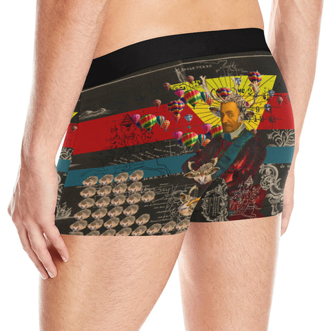 THE HEDGEHOG SOUP UPPER III IV Men's All Over Print Boxer Briefs
