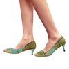 DANDELIONS Women's Pointed Toe Low Heel Pumps