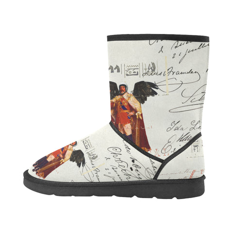 THE KING OF THE FIELD III Unisex All Over Print Snow Boots
