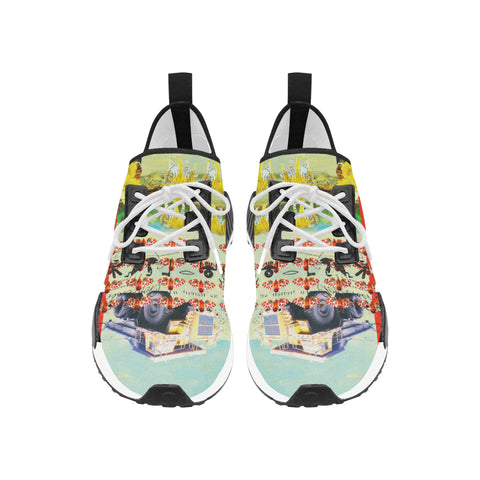 ACCORDING TO PLAN. Women's All Over Print Running Shoes