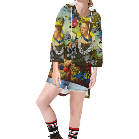 THE PLANE TECHNICIAN / UNPAINTER Unisex Step Hem Tunic Hoodie