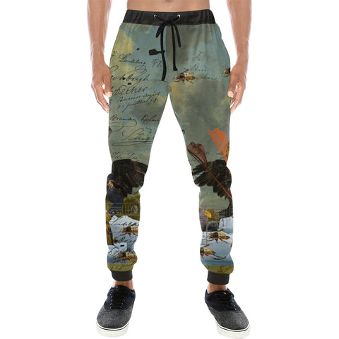 THE YOUNG KING ALT. 2 II Men's All Over Print Sweatpants