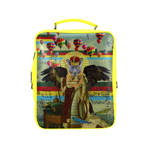 ANIMAL MIX - THE HOLY EMPEROR AGAIN III Square Backpack