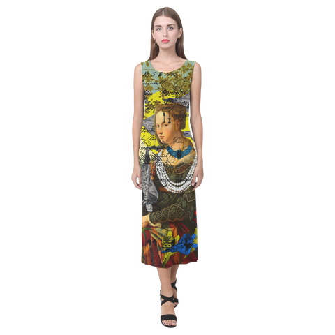 THE PLANE TECHNICIAN / UNPAINTER Sleeveless Dress