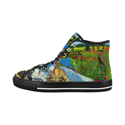 HEY! HERE ARE TWO MORE FOR YOU GUYS. Men's All Over Print Canvas Sneakers