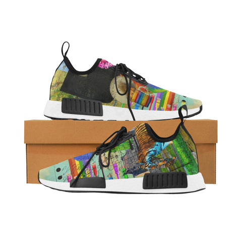 THE BIG PARROT Women's All Over Print Running Shoes