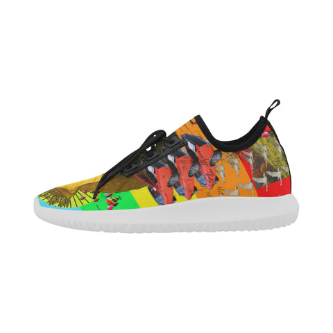 PRAYER Ultra Light All Over Print Running Shoes for Men
